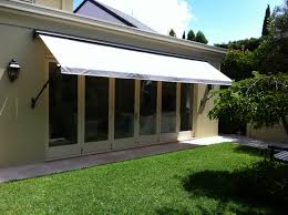 drop arm awnings